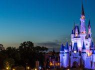 A placa da Disney