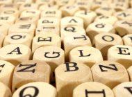 O vocabulário das palavras