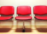 A sala de espera